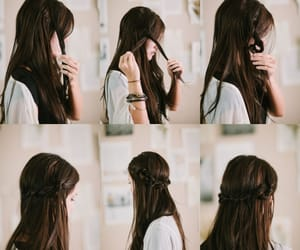 beauty, coiffure, and hairstyle image
