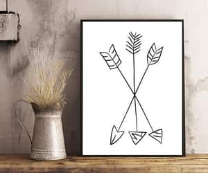 etsy, modern art, and tribal print image