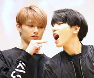jun, Seventeen, and junhui image