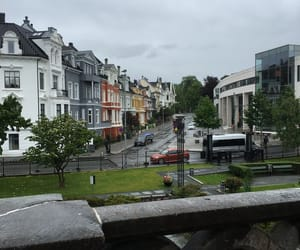 bergen, colorful buildings, and norway image