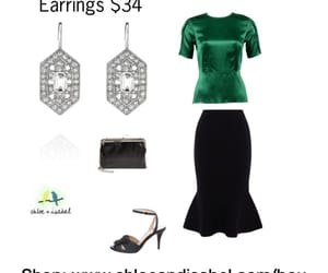 accessories, earrings, and vintage inspired image