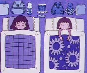 aesthetic, sleeping, and illustration image