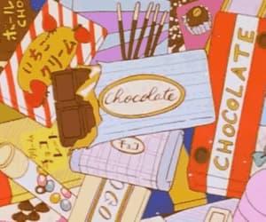 anime and chocolate image