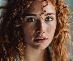 beautiful, girl, and curls image