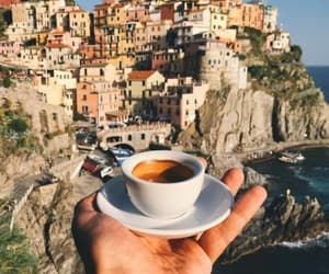 coffee, italy, and travel image