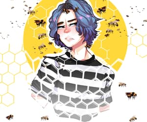 bees, cult, and ahs image