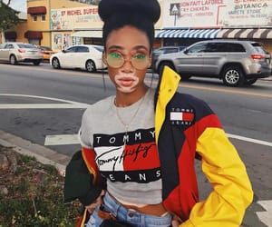model, style, and winnie harlow image