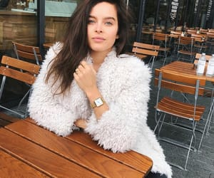 brunette, white black, and fashion alternative image