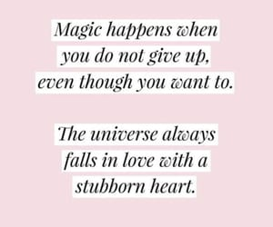 quotes, inspiration, and magic image