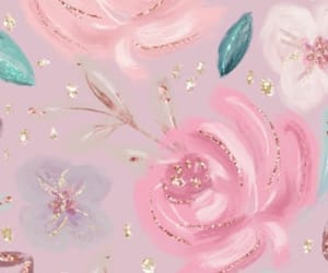 girly, roses, and wallpapers image