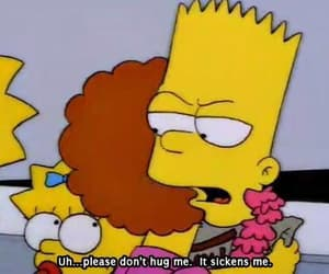 hug and the simpsons image