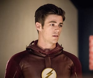 flash, the flash, and grant gustin image
