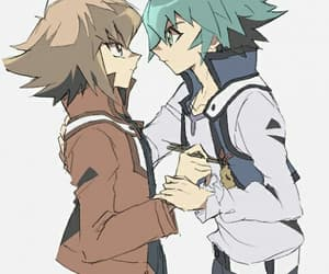 yugioh gx, spiritshipping, and cute image