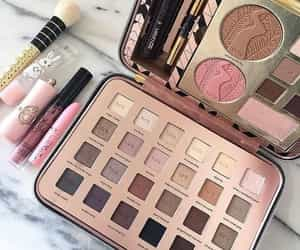 beauty products and makeup image