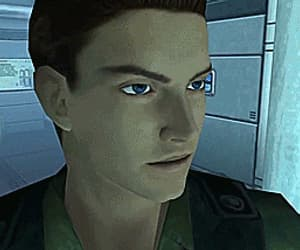 gif, albert wesker, and chris redfield image