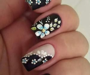 fashion, women fashion, and nail polish image