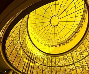 architecture, window, and yellow image