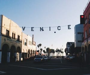 venice, beach, and travel image
