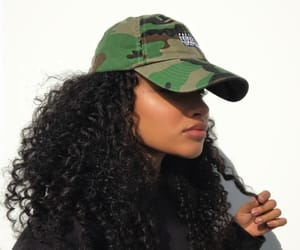 beautiful hair, style, and curls image