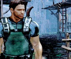 gif and chris redfield image