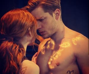 clary fray, jace herondale, and shadowhunters image