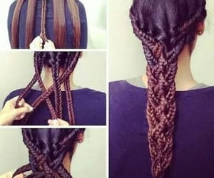 hairstyle, style, and hair image