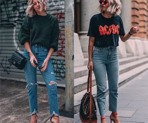 ACDC, blonde, and fashion image
