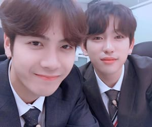 jackson, JYP, and mark image