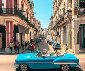 car, havana, and travel image