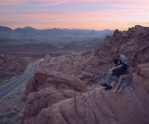 aesthetic, summer, and desert image