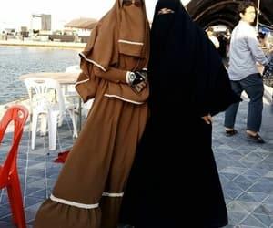 islam, niqaabalicious, and sunset image