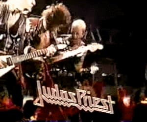 gif, metal music, and Judas Priest image