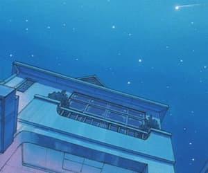 gif, anime, and stars image