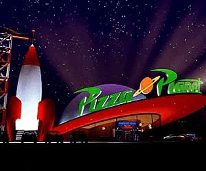 disney, pizza planet, and toy story image