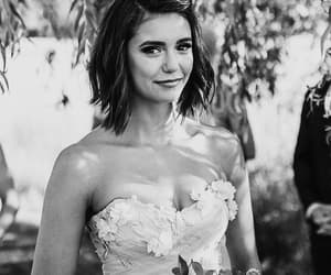 Nina Dobrev, julianne hough, and wedding image