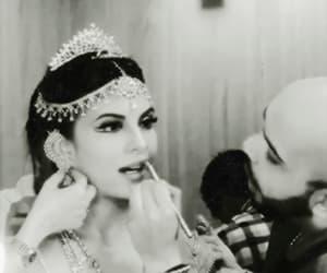 beauty, bollywood, and headdress image