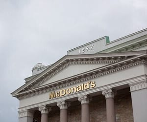 McDonalds, pale, and grunge image