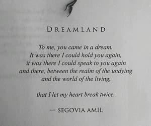book, broken, and Dream image