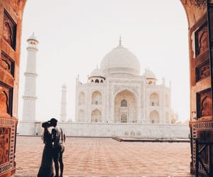 travel, couple, and love image