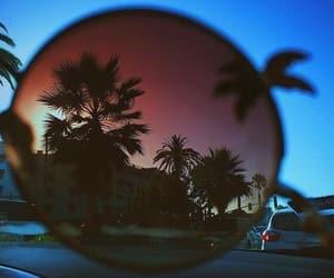 atardecer, beach, and city image
