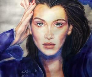 art, bella, and portrait image