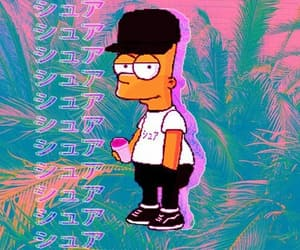 aesthetic, bart, and bart simpson image