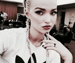 aesthetic, red, and dove cameron image