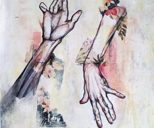 art, cool, and hand image