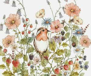art, botany, and sweet image