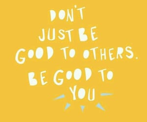 quotes, good, and love yourself image