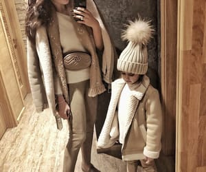baby, fashion, and fur image
