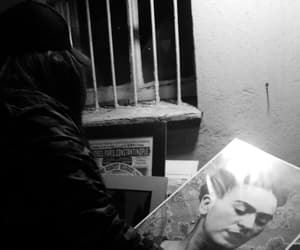 blackandwhite, night, and fridakahlo image