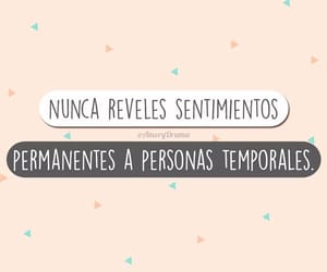 frases, sentimientos, and amor temporal image