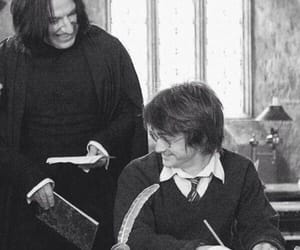 harry potter, severus snape, and snape image